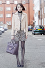 Alice-olivia-dress-sandro-jacket-mulberry-bag-kurt-geiger-heels