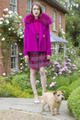 Matthew-williamson-dress-matthew-williamson-coat-pollini-sandals