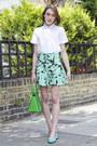Gap-shirt-michael-kors-bag-zara-shorts-french-sole-pumps