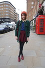Oliver-sweeney-shoes-whistles-coat-topshop-hat-radley-london-bag