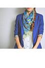 Vintage-shoes-bershka-blazer-forever-21-shirt-vintage-scarf-asos-bag
