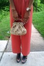 Nine-west-wedges-purse-snake-skin-accessories-jumper