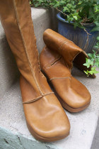 leather Kaslo Earth Shoe boots