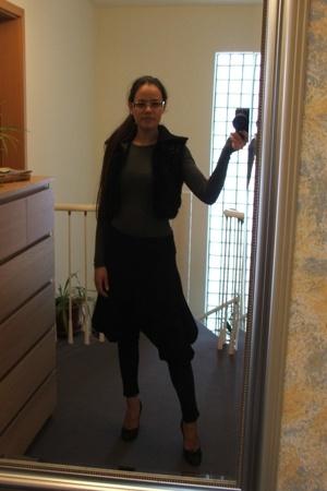 magnitudevintage vest - BABOOSHKA pants - martin margiela shoes