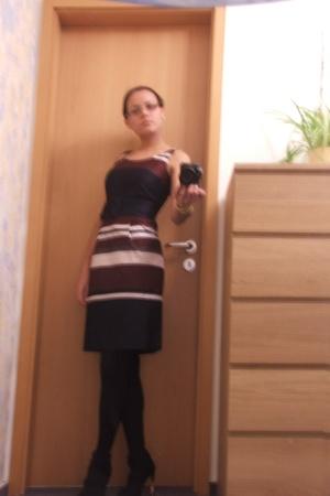 H&M dress - Gucci shoes