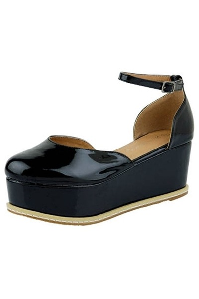 black wedge pumps wedges