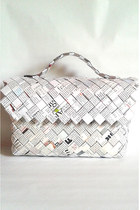 Designer White Bag