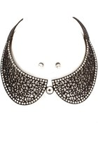 Necklace & earrings set - collar