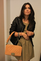 black Rinascimento blazer - light orange Rinascimento dress