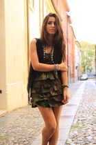green rebecca melloni dress