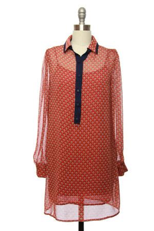 shirt dress dress