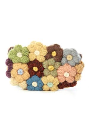 crocheted purse purse