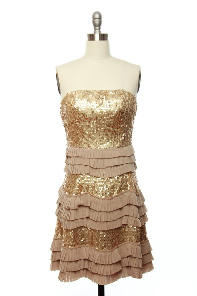 sequined dress dress