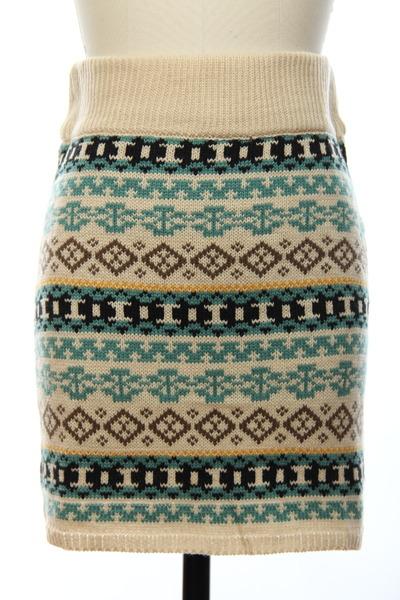 knit skirt skirt