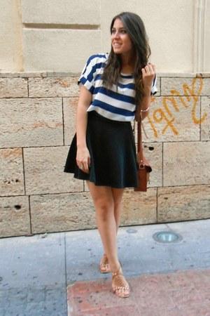 Misako bag - Stradivarius skirt - H&M sandals - Dresslilly blouse