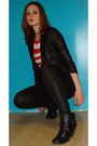 H-m-dress-eclipse-tights-american-eagle-boots-h-m-jacket