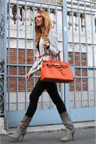 Similar Hermes bag - cinti shoes - Bershka jeans - H&M blazer