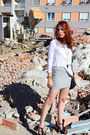 White-zara-shirt-black-mango-bag-silver-zara-skirt-black-forever-21-neckla