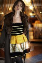 Carlo Ramello coat - Manoush dress