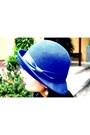 Aldo-boots-blue-hat-h-m-hat-forever-21-pants-zara-vest-topshop-top