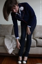 Bellino jacket - Ralph Lauren shirt - M One jeans - shoes - coat