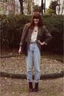 Blazer-topshop-boots-jeans-h-m-trend-blouse