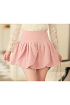 light pink unknown skirt