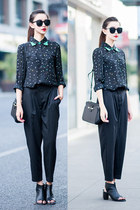 mixmoss blouse - mixmoss pants