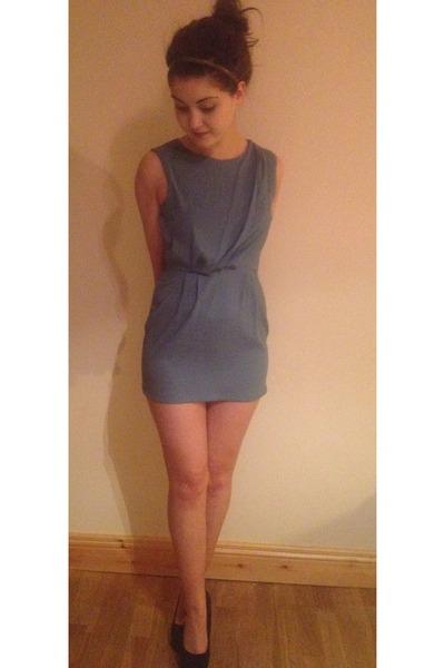 heels - dress - blazer