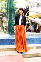 tawny maxi skirt Ms Eggplant skirt - black Summersault shoes