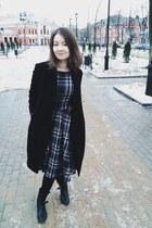 Patrizia Pepe boots - Veshalki dress - wool JNBY coat