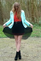 Boutique in Pars skirt - H&M Trend blazer
