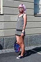 black from japan Avira Pink romper - blue galaxy random brand bag