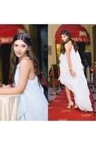 shein dress - Jessica Buurman sandals