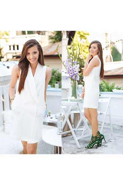 romwe dress - Jessica Buurman sandals