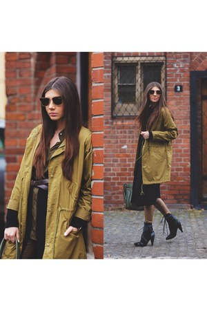 Sheinside cardigan - Jessica Buurman boots - kurtmannro jacket - Sheinside pants