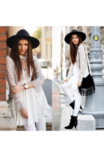 Jessica Buurman boots - Sheinside dress - Jessica Buurman bracelet