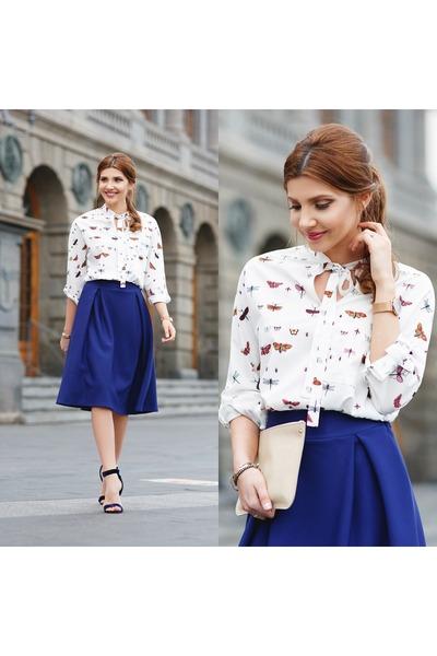 shein shirt - shein skirt