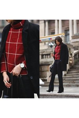 Sheinside sweater - Sheinsidecom coat