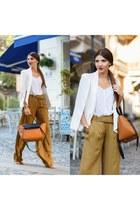 shein blazer - Zara pants