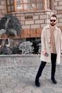 Black-suede-goodbye-folk-boots-camel-waterproof-zara-coat