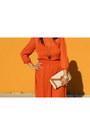 Gold-style-co-watch-carrot-orange-midi-chiffon-asos-dress