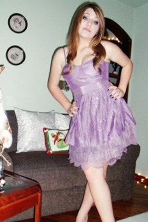 amethyst Cor de Rosa dress