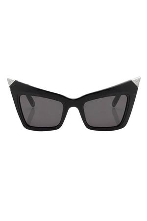 black retro Alexander Wang glasses