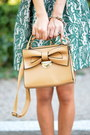 H-m-sunglasses-zara-dress-oasap-bag-sheinside-pumps-h-m-necklace