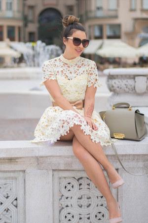 light yellow Chicwish dress