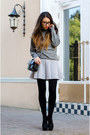 Heather-gray-c-a-sweater-black-vintage-bag-periwinkle-blackfive-skirt