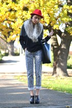 black nowIStyle sweater - gray nowIStyle pants