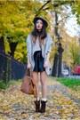 Heather-gray-oasap-shorts-heather-gray-oasap-cardigan