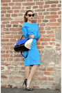 Blue-oasap-dress-blue-persunmall-bag